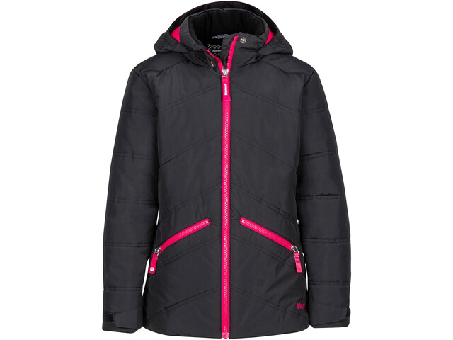 Marmot Val D'Sere Jacket Mädchen Black/Bright Ruby